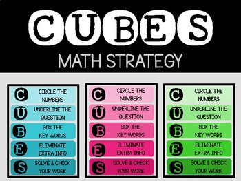 IKEA Tolsby Frame - CUBES Math Strategy