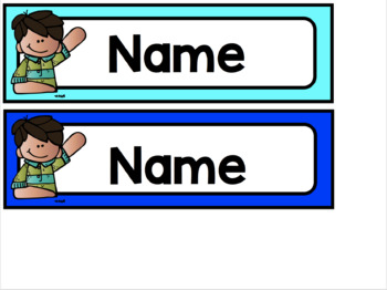 IKEA Trofast Student Name Labels