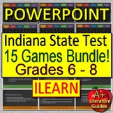 ILEARN ELA Indiana State Test for English Language Arts - 15 Games! Grades 6 - 8