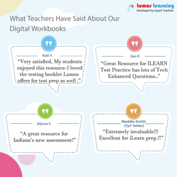 ILEARN Practice Test, Worksheets and Remedial Resources -3rd Grade ELA Test Prep