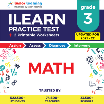 ILEARN Practice Test, Worksheets and Remedial Resources - Grade 3 Math Test Prep