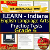 6th Grade ILEARN Test Prep Practice ELA Indiana Computer Adaptive