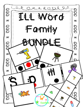 ILL Word Family Bundle
