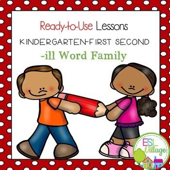 -ill word family