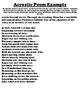 ILLINOIS Acrostic Poem Worksheet