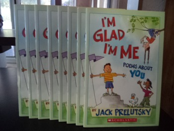 I'M GLAD I'M ME  POEMS ABOUT YOU   0 -439-90826-4   (set of 8)