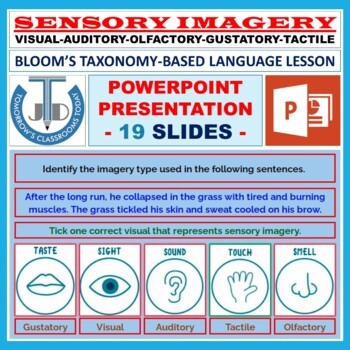 IMAGERY TYPES READY TO USE LESSON PRESENTATION
