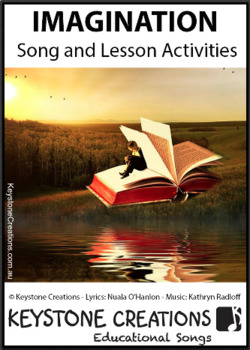 'IMAGINATION' ~ MP3 READ, SING & LEARN about Creativity & using the Imagination