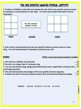 IMMUNE SYSTEM, An Interactive Notebook