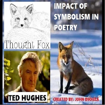 THOUGHT FOX-SYMBOLISM IN POETRY: LESSON & RESOURCES