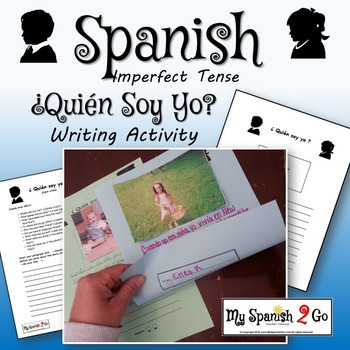 IMPERFECT:  Imperfect, Quien Soy Yo? Writing Activity