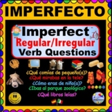 IMPERFECT TENSE in Spanish - Personalized Questions for Spanish Class!