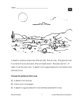 IMPROVING READING FLUENCY & COMPREHENSION: UNIT 1