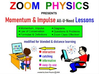 IMPULSE AND MOMENTUM. LAW OF CONSERVATION OF MOMENTUM Revi