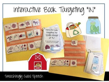 """""""IN"""" Interactive Book! Teach the preposition """"in"""" using in"""