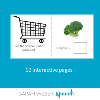 IN- Interactive Core Vocabulary Book