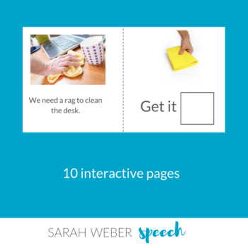 OUT- Interactive Core Vocabulary Book