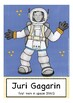 IN SPACE flash cards / flashcards ESL, English vocabulary picture cards