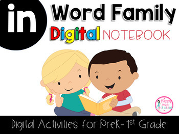 IN Word Family Digital Notebook