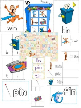 IN word family pack