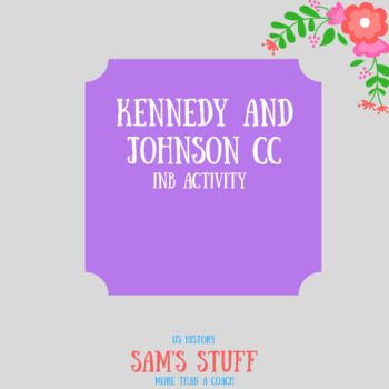 INB Kennedy and Johnson Compare and Contrast