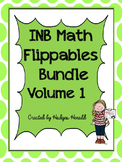 INB Math Flippables Bundle Volume 1