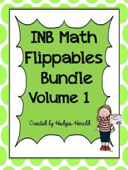 INB Math Flippables Bundle Volume 1