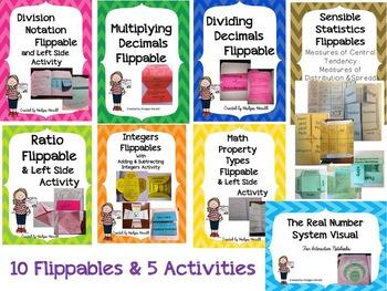 INB Math Flippables Volume 2