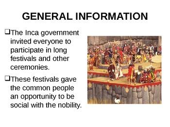 INCA DAILY LIFE