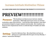 Motivation - Increase INTRINSIC Student Motivation!!!!!