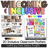 INCLUSIVE CLASSROOM POSTER BUNDLE PACK   Diversity & Equal