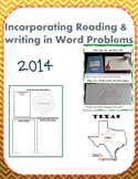 STAAR 5th Grade Math INCORPORATING READING AND WRITING INTO MATH WORD PROBLEMS