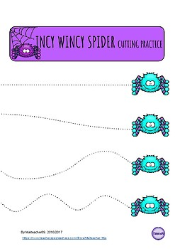 INCY WINCY SPIDER COMPLETE LESSON PLAN