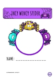INCY WINCY SPIDER LESSON PLAN SAMPLE