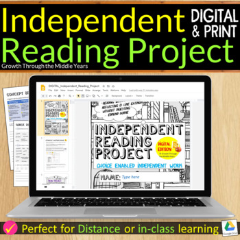 INDEPENDENT READING MENU PROJECT
