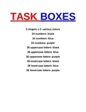 INDEPENDENT TASK BOX LABELS