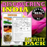 INDIA: Discovering India Activity Pack