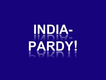 INDIA-PARDY!