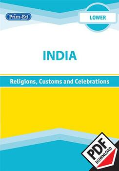 INDIA - RELIGIONS, CUSTOMS AND CELEBRATIONS: LOWER UNIT