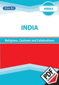 INDIA - RELIGIONS, CUSTOMS AND CELEBRATIONS: MIDDLE UNIT