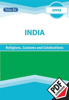 INDIA - RELIGIONS, CUSTOMS AND CELEBRATIONS: UPPER UNIT