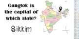 INDIA (STATE AND CAPITALS) GENERAL KNOWLEDGE