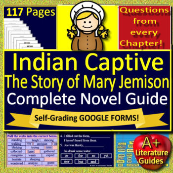 Indian Captive: The Story of Mary Jemison Novel Study Unit