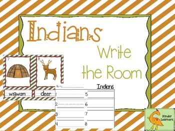 INDIANS Write the Room