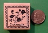 INDONESIA Country/Passport Rubber Stamp