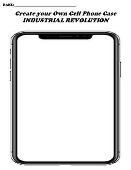INDUSTRIAL REVOLUTION CREATE YOUR OWN CELL PHONE COVER
