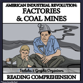 INDUSTRIAL REVOLUTION: FACTORIES AND MINES - Reading Compr