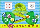 INEQUALITIES For Kids - Cute Alligator Math Fun Printable (Greater, Less, Equal)