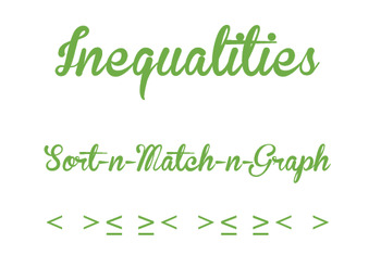 INEQUALITY SORT-N-MATCH-N-GRAPH