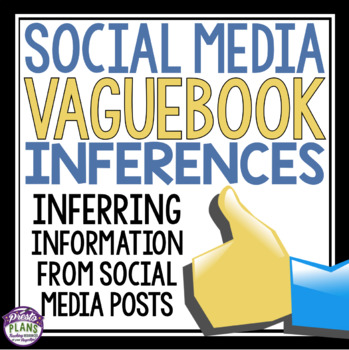 INFERENCE ACTIVITY: VAGUEBOOK